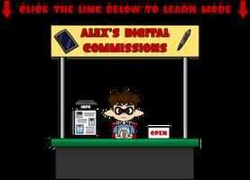 Alex's Digital Commissions - Open