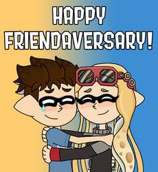 Happy Friendaversary, AmyRosers!