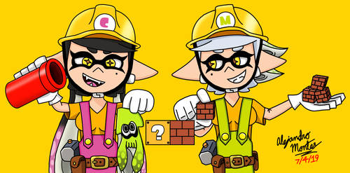 Builder Callie and Builder Marie