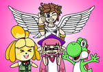 {Request} Emily, Isabelle, Yoshi, and Pit