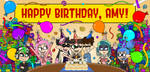 Happy Birthday, AmyRosers! (2020) by AleMon1097