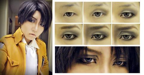 Levi/Rivaille (SnK) Eye Makeup