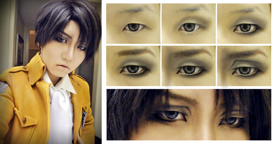 Top Levi Cosplay Makeup Images for Pinterest Tattoos