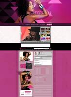 Negra Li MySpace by wilminetto