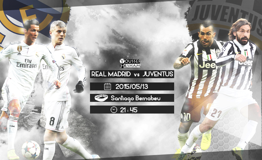 Real Madrid And Juventus Wallpaper Match By Youssefhesham Gfx11 On