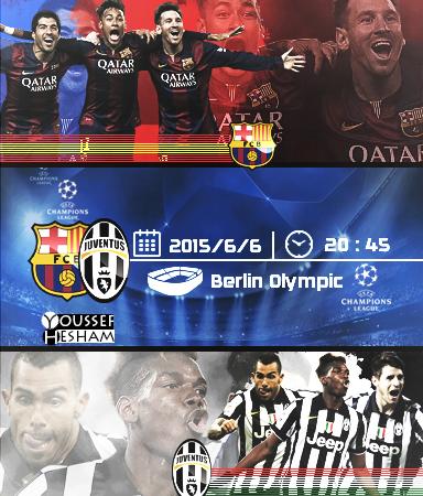 Barcelona Vs Juventus Poster Champions League By Youssefhesham Gfx11 On Deviantart