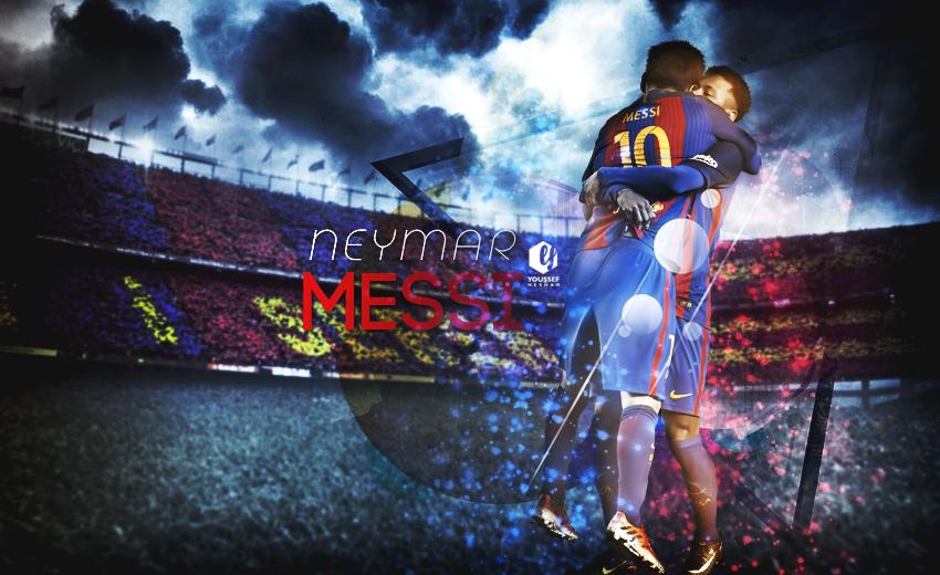 Neymar And Messi Wallpaper 2017