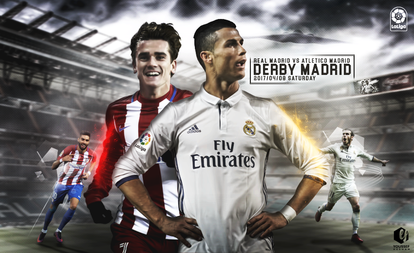 Real Madrid Vs Atletico Madrid Wallpaper By Youssefhesham Gfx11 On