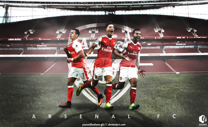 Arsenal Wallpaper By YoussefHesham-gfx11 On DeviantArt