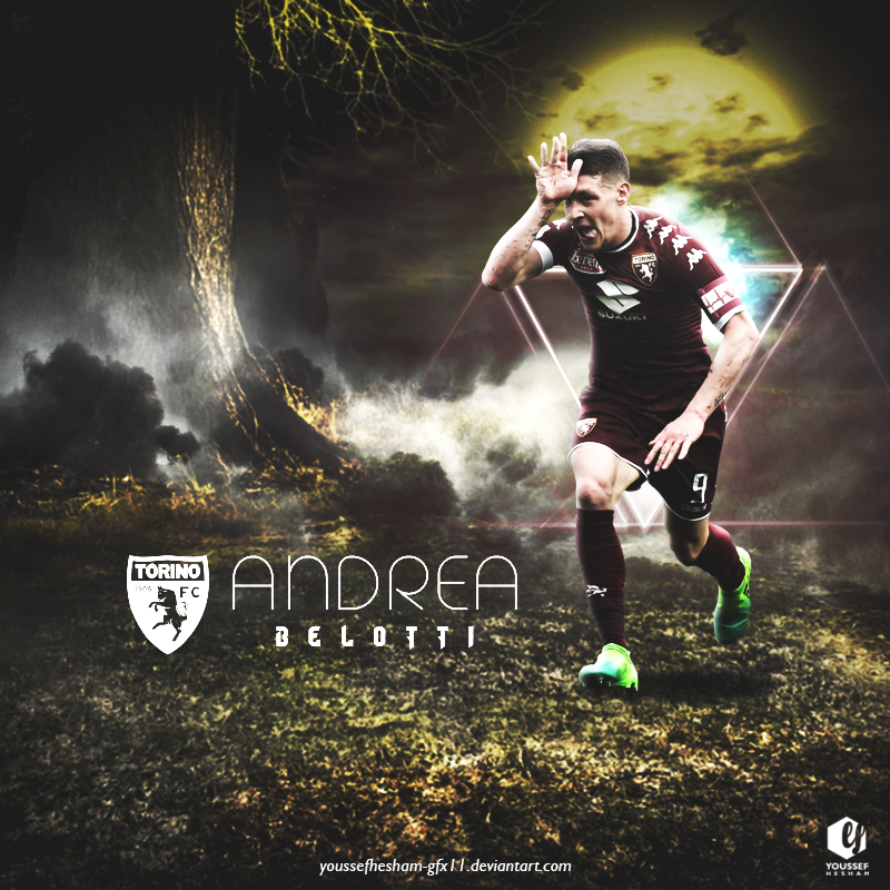 Andrea Belotti Poster by YoussefHesham-gfx11 on DeviantArt
