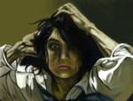 Autoportrait as Courbet
