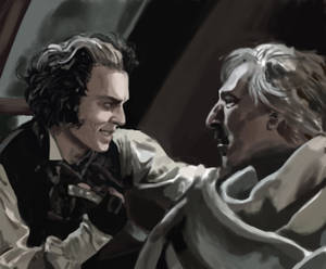 Sweeney Todd and Juge Turpin