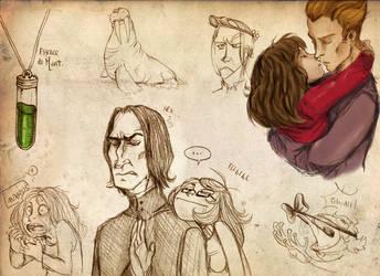 HP Doodle by FlyingRotten