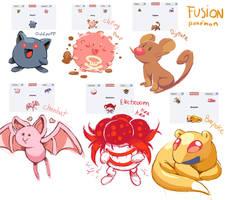 pokemon fusion by FlyingRotten