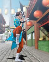 Street Fighter - Chun Li by Jonboy2312
