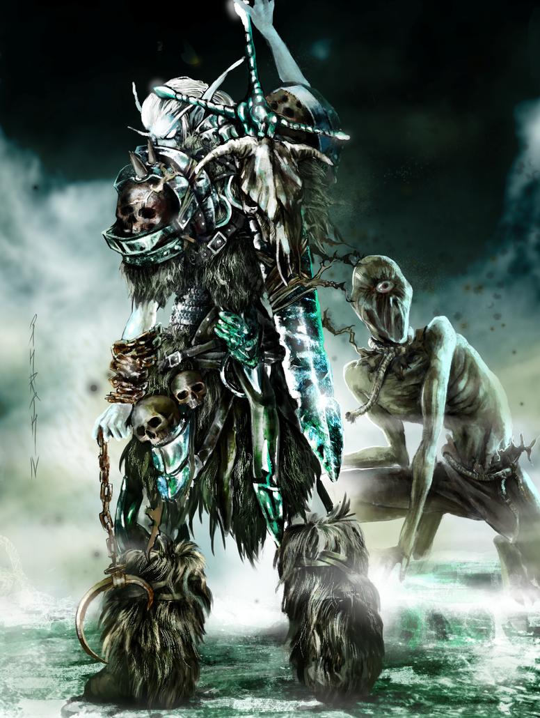Death Knight by INRIn