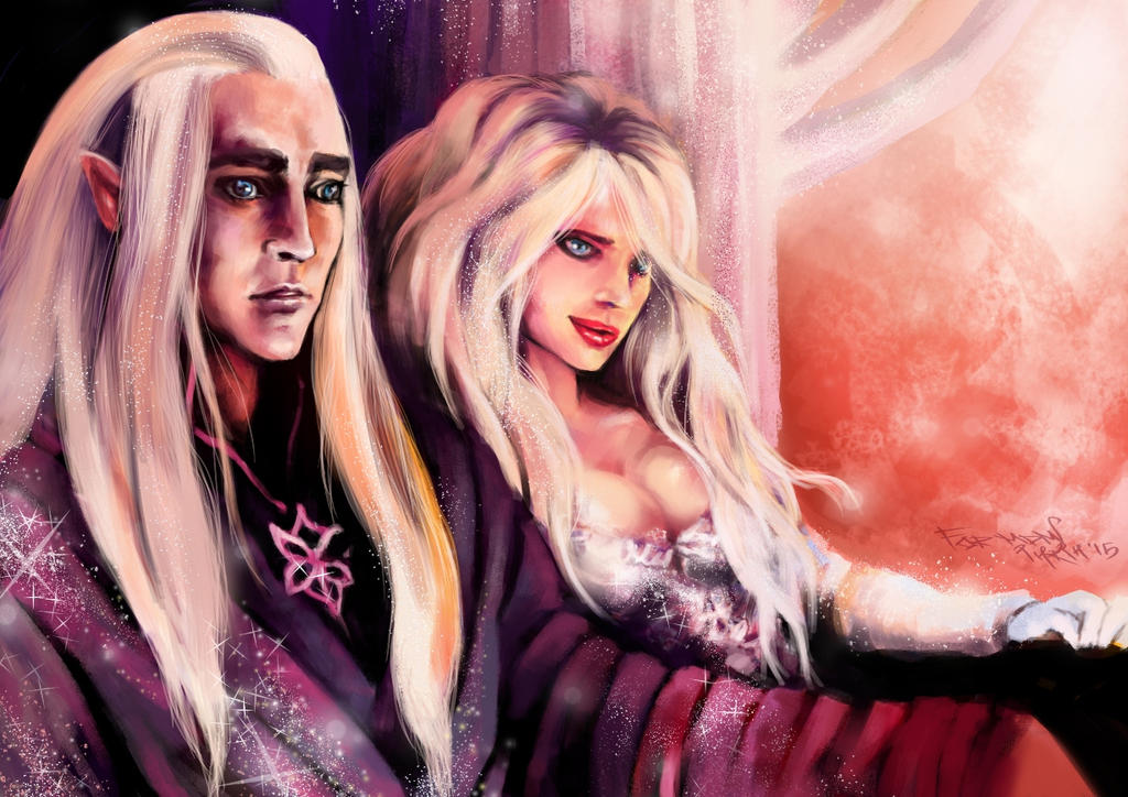 Ma and King by INRIn