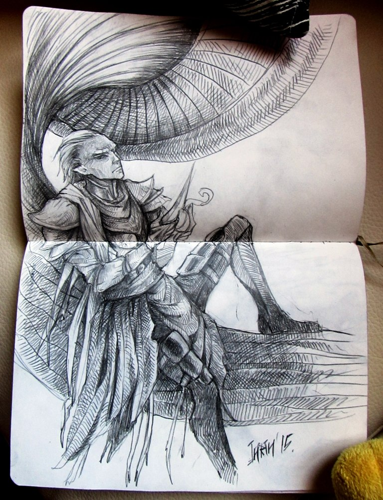 Sketch-book  4 by INRIn