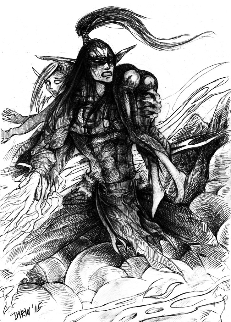 Stormrage sketch by INRIn