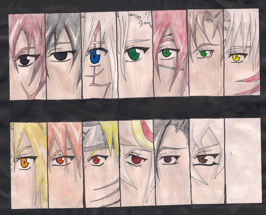 Anime Eyes Color Color Wheel Anime Eyes by