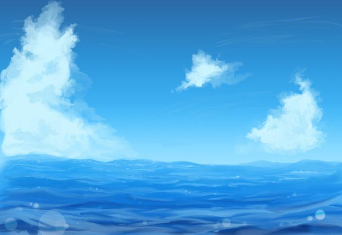 ocean background by sharper on deviantart
