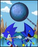 Sonic meet Metal