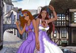 Zarina and Raina