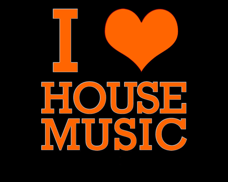 I heart house music changed by agito savra on deviantart for House music art
