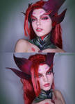 Zyra makeup from League of Legends