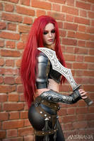 Katarina Cosplay from League of Legends by xAndrastax