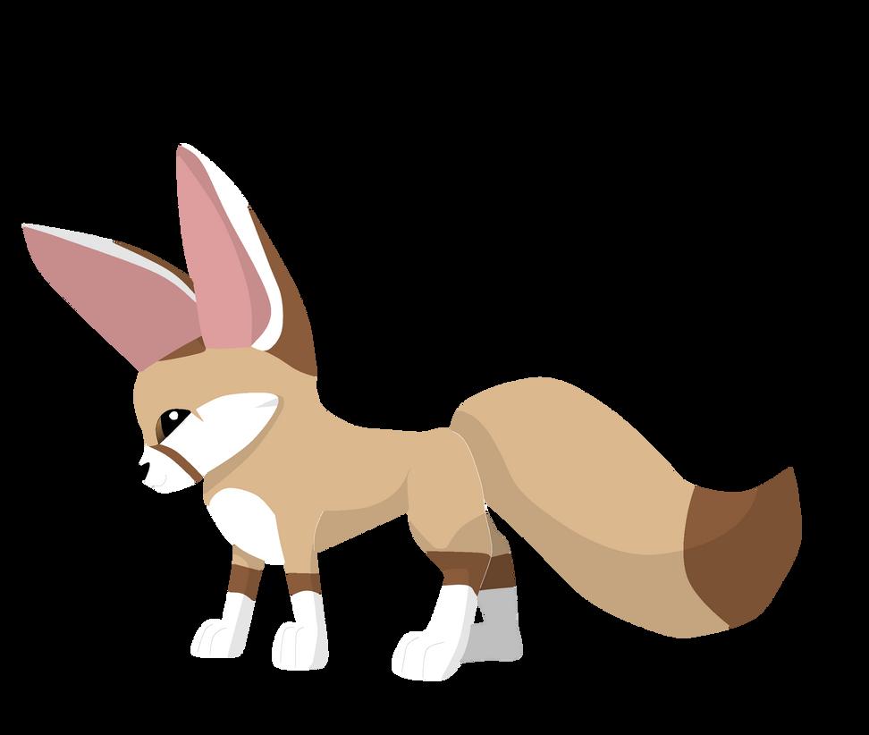 Fennec Fox Drawn In The Animal Jam Style By Chartayisokay