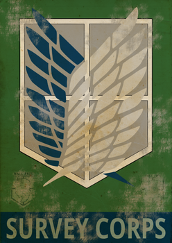 Survey Corps poster