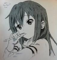 Nakano Azusa by MartinHyuuga