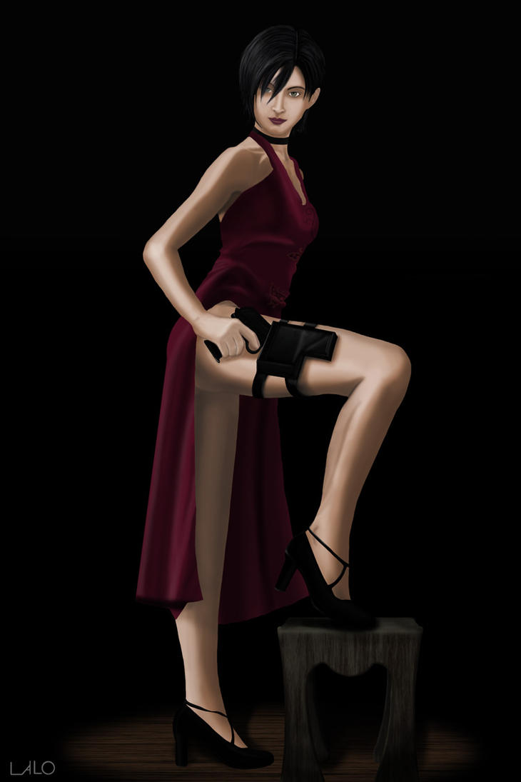 Ada Wong RE4, Sexy Resident by lalomola