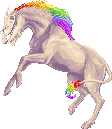 Unicorn of Doom by Morganne