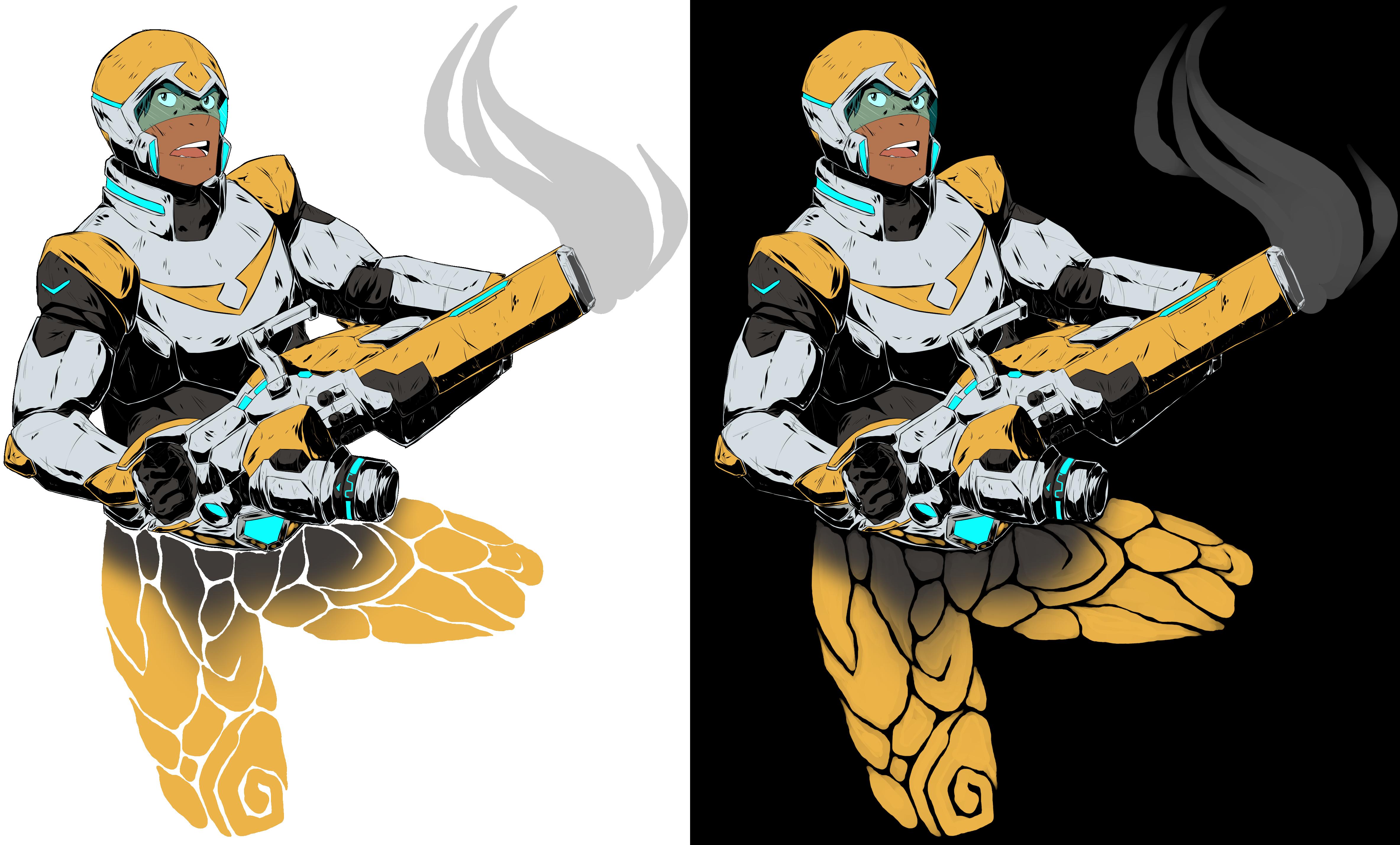 Hunk Garrett - Paladin Armor by Kre-Kael on DeviantArt
