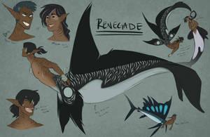 Ren Sketches 1 by Kre-Kael