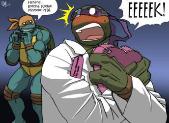 MNTG - Donatello's Valentine by Tigerfog