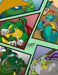 Mutant Ninja Turtles Gaiden
