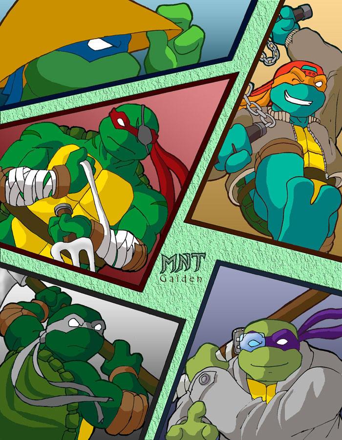 Mutant Ninja Turtles Gaiden by Tigerfog