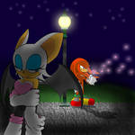 Knuckles and Rouge-Melancholy