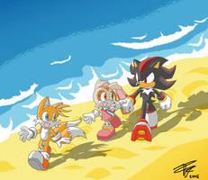 Tails,Cream,Shadow -Innocence
