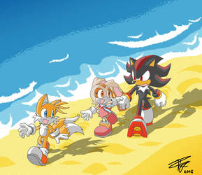 Tails,Cream,Shadow -Innocence by Tigerfog
