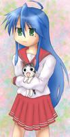 Konata and Chi