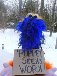 Puppet Seeks Work!