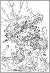 Thor's Assassin vs Manphibian WIP