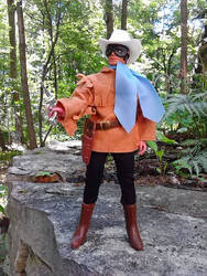 Custom Masked Ranger Mego figure