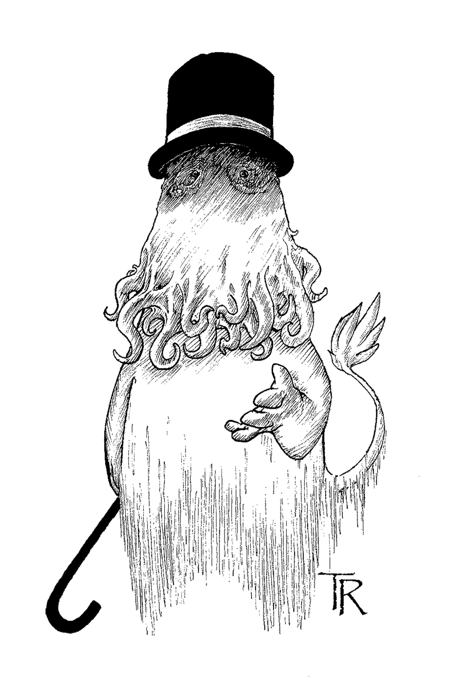 Moomin Cthulhu By Moreeni On Deviantart