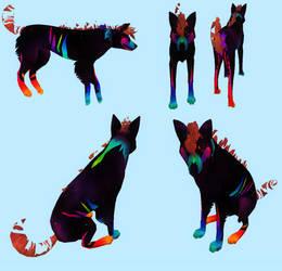 Cosmic Sparkle Dog Preset by Unnuk