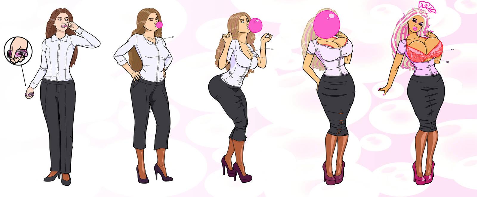 CMSN-Bubblegum Bimbo TF By Banedearg On DeviantArt